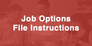 Job Options File Instructions