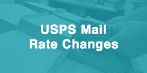 USPS Mail Rate Changes