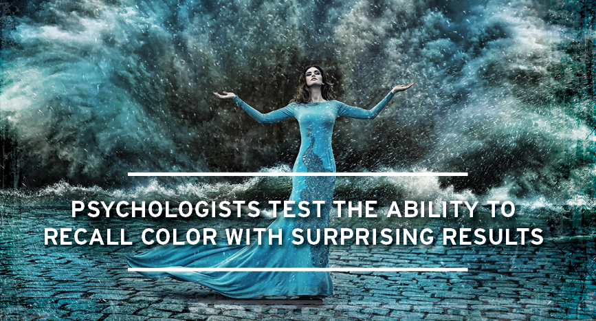 Psychologists test the ability to recall color with surprising results