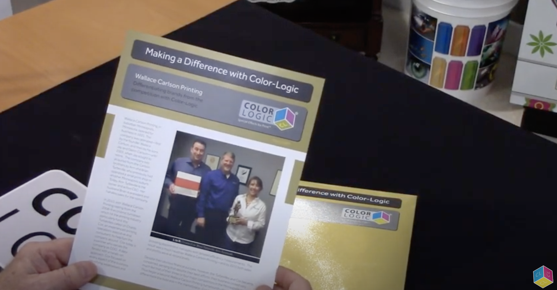 WCP making a difference with Color-Logic!