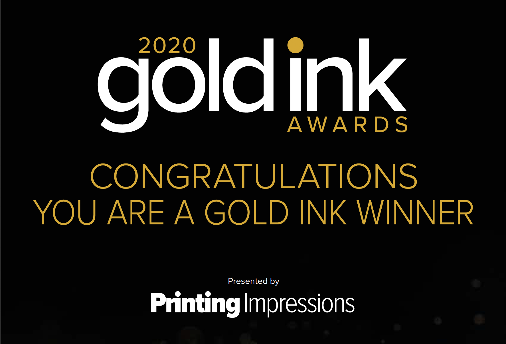 WCP WINS 3 GOLD INK AWARDS